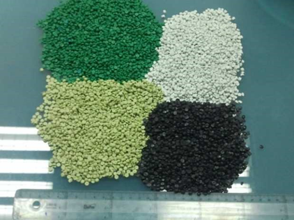 HDPE REGRANULATED colors