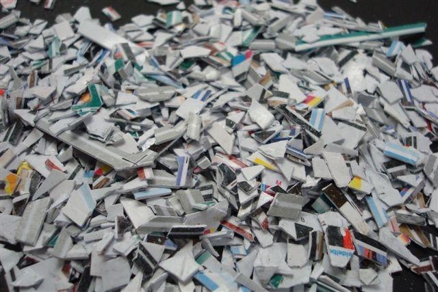 Image result for shredded credit cards